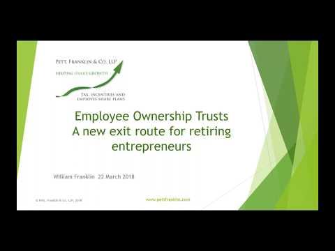 Pett Franklin - Employee Ownership Trusts Webinar - 22 March 2018