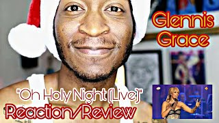 Glennis Grace -Oh Holy Night (Live) *Reaction/Review*