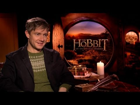 Martin Freeman - The Hobbit: An Unexpected Journey Interview with Tribute