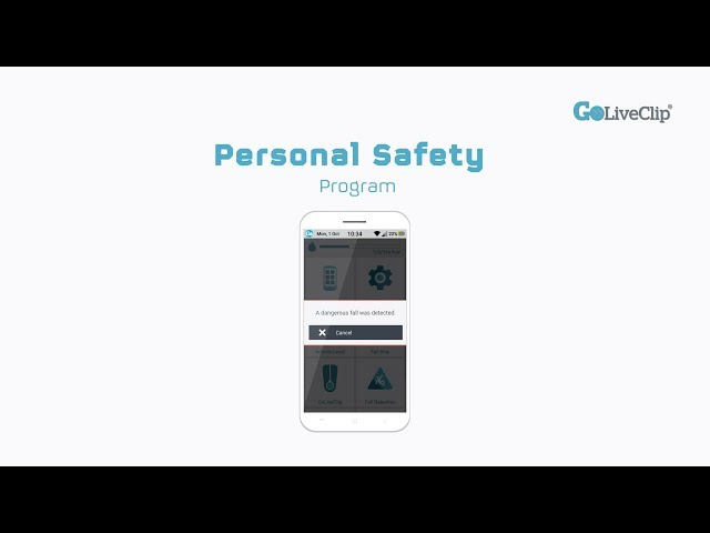 GoLivePhone Personal Safety Program