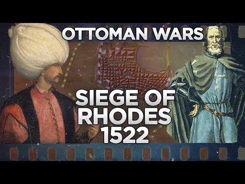 Siege of Rhodes 1522 - Ottoman Wars DOCUMENTARY