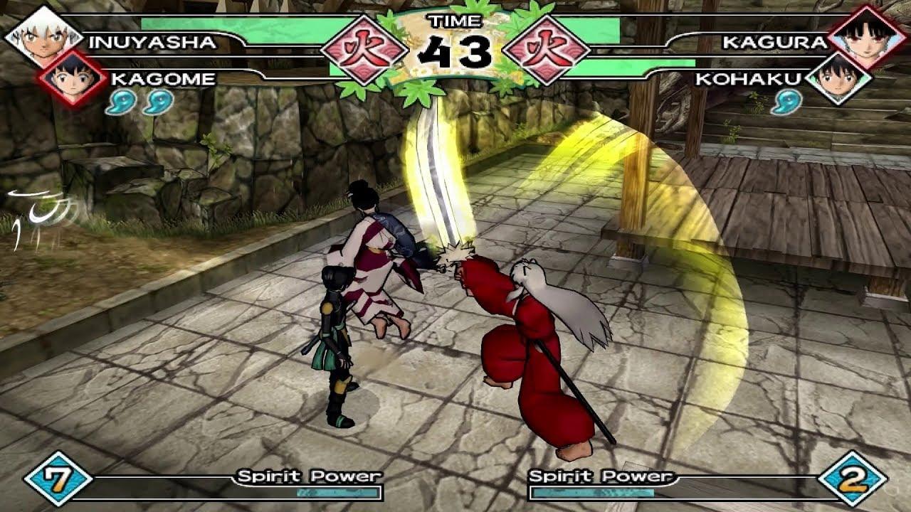 inuyasha feudal combat para pc gratis