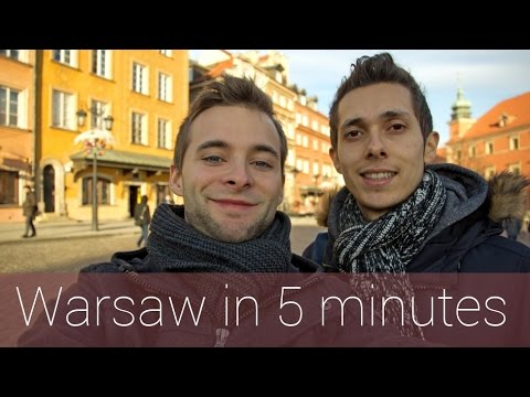 Warsaw in 5 minutes | Travel Guide | Must-sees for your city tour