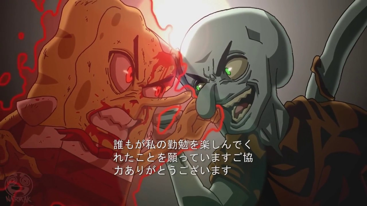 spongebob anime opening asphyxia tokyo ghoul re op