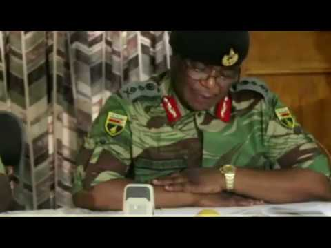 Zim Defence Forces Commander Chiwenga Press Conference