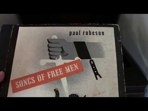 Paul Robeson Songs of Free Men 78RPM