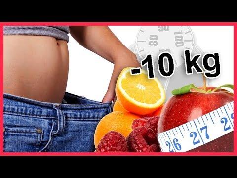 Obst schneiden, um Gewicht zu verlieren