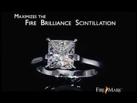FireMark Princess Cut Diamond