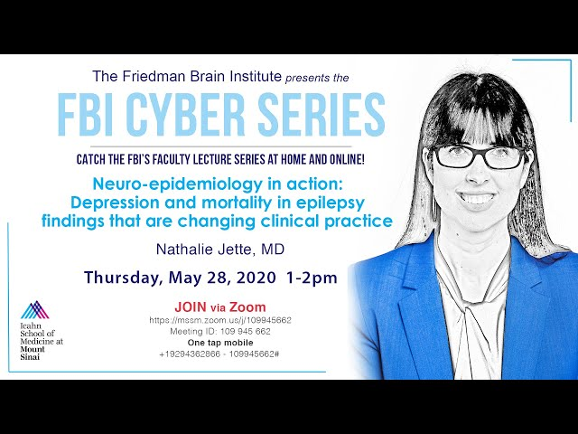 FBI Cyber Series - Neuro-Epidemiology in Action: Depression & Mortality in Epilepsy Findings