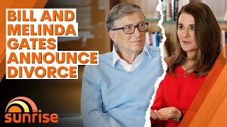 Bill & Melinda Gates make shock divorce announcement   7NEWS