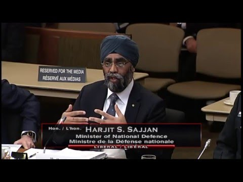 MP Gerretsen asks Defence Minister Sajjan about Arctic Sovereignty