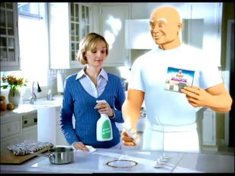 ellen sirot hand model mr clean magic eraser commercial p g
