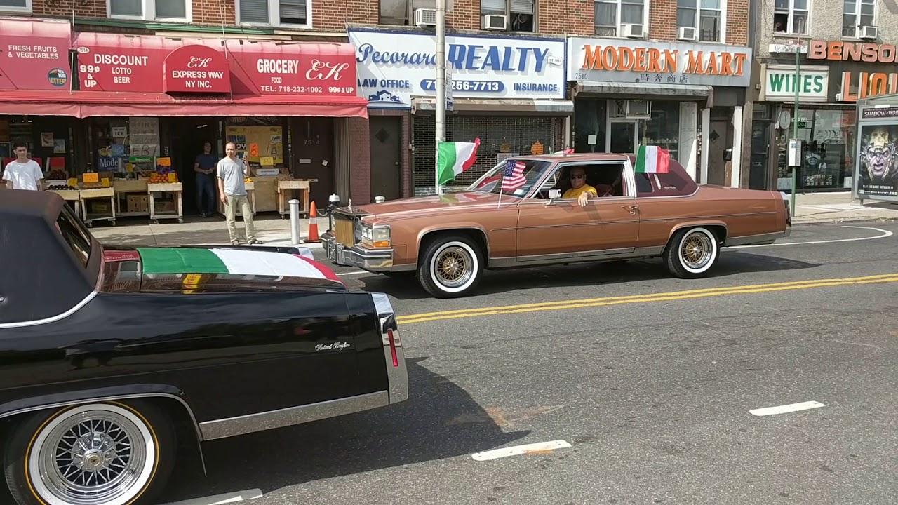 Bensonhurst Car Service >> Godfather Theme Car Horn In Bensonhurst Columbus Day Parade
