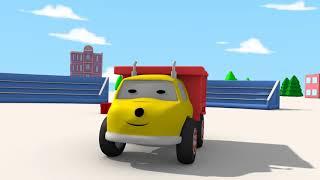 Das Spukschloss von HALLOWEEN 💀 Lerne mit den kleinen Trucks 🎃 Lehrreiche Cartoons für Kinder