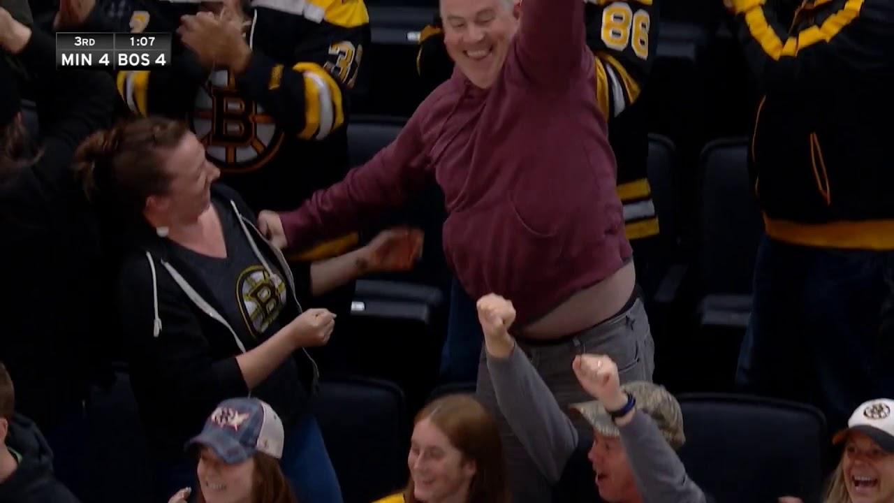 Comeback! Boston Bruins - Minnesota Wild