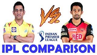IPL Comparison :- MS Dhoni VS Wriddhiman Saha ~ IPL 2020