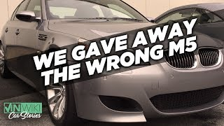 We Gave 2 Valet Customers the Wrong M5s