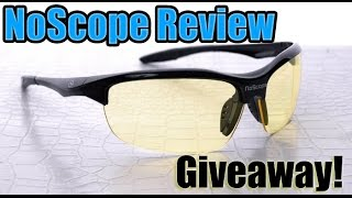 NoScope Gaming Glasses Review and Giveaway!