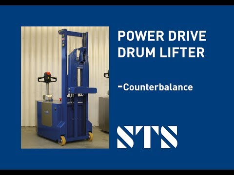 STS - Counterbalance Powered Drum Handling Lifter (DPC01) Drum Handling Equipment