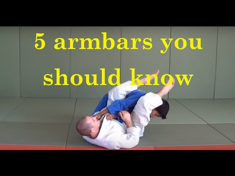 5 armbars you should know from guard by Love Judo Magazine