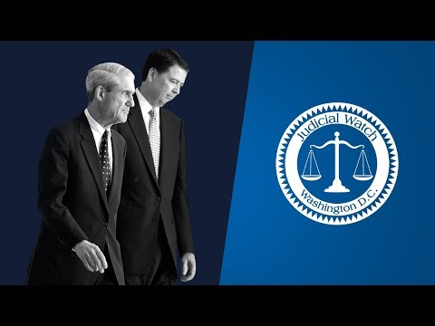 Judicial Watch Exposes Comey/Mueller Coordination