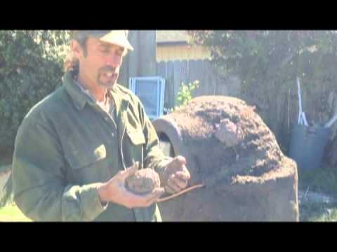how to build a cob oven youtube