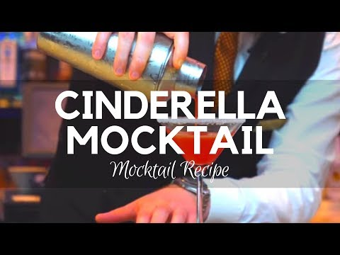 Cinderella Mocktail - Mocktail Recipes - Non Alcoholic Cocktails - Easy Mocktail Recipes - Ireland