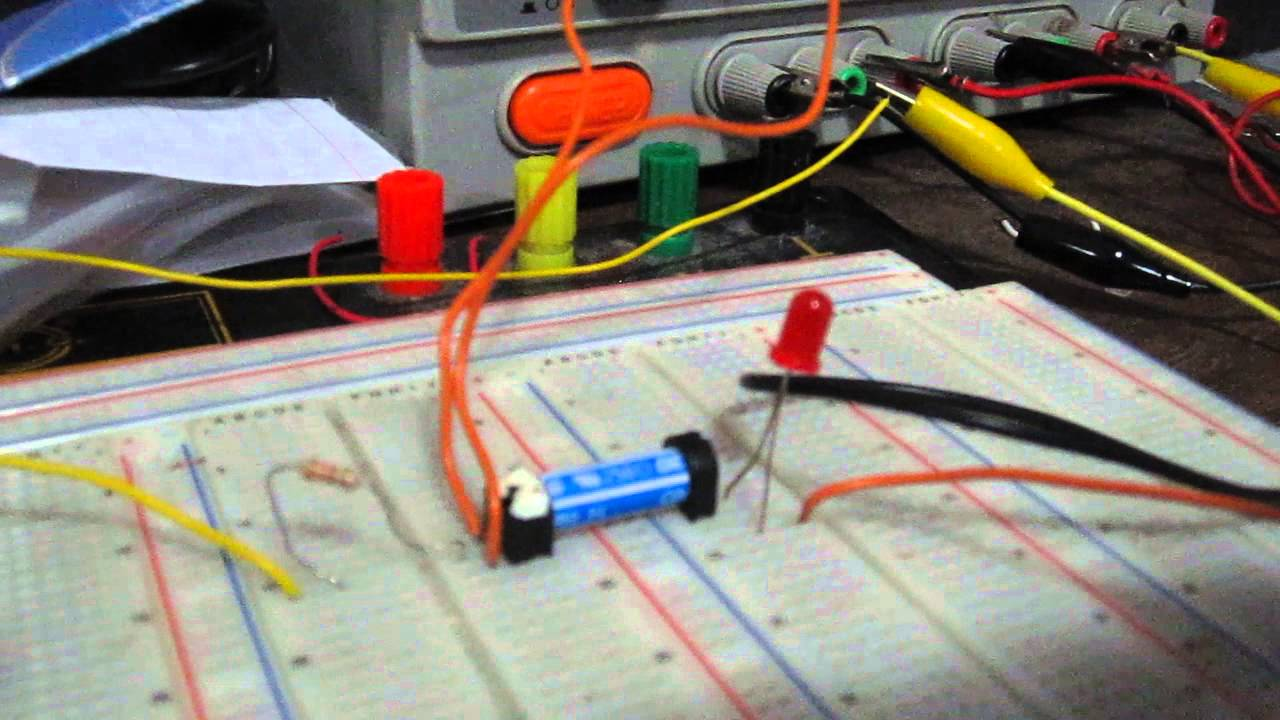 Spst Relay Circuit Youtube How To Wire A Spdt