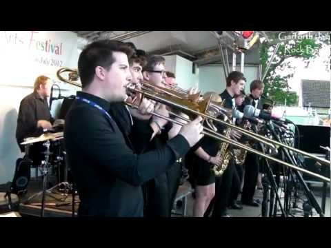 Garforth Arts Festival 2012 - Garforth Jazz Rock Band - Jump