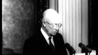 "Ike discusses U-2 flights and ""fetish of secrecy"" 1960"