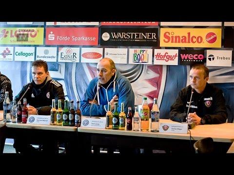 25. Spieltag | Kiel - SGD | Pressekonferenz nach dem Spiel