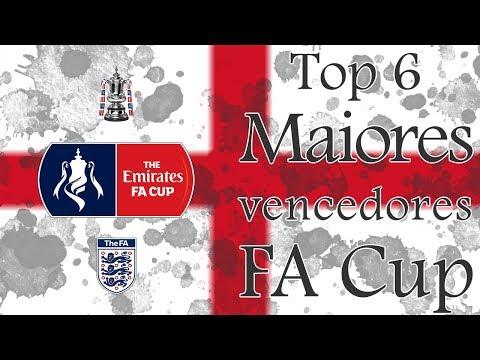Top 6 - Maiores vencedores da FA Cup