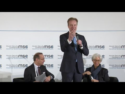 "MSC-2018. Fireside Chat ""The Global Economic Order"" [16.02.2018]"