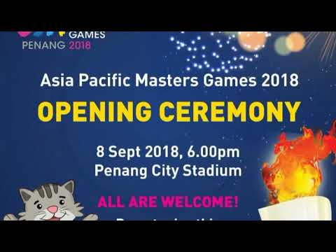 Asia Pacific Masters Games, Penang 2018