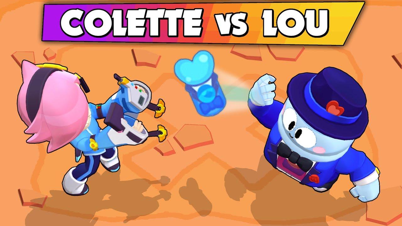 COLETTE vs GENE   1vs1   Evil Battle