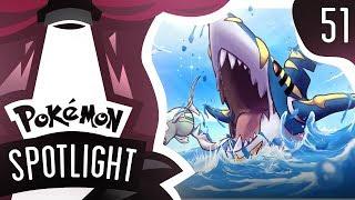 POKEMON SPOTLIGHT MEGA SHARPEDO 51 Pokemon Ultra Sun  Moon UU Showdown Live wPokeaimMD