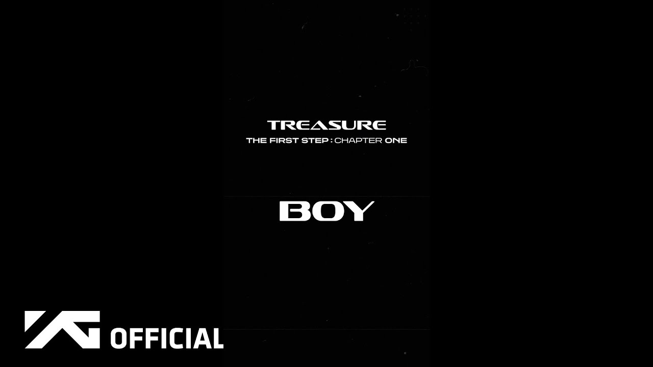 TREASURE - 'BOY' MOTION TEASER