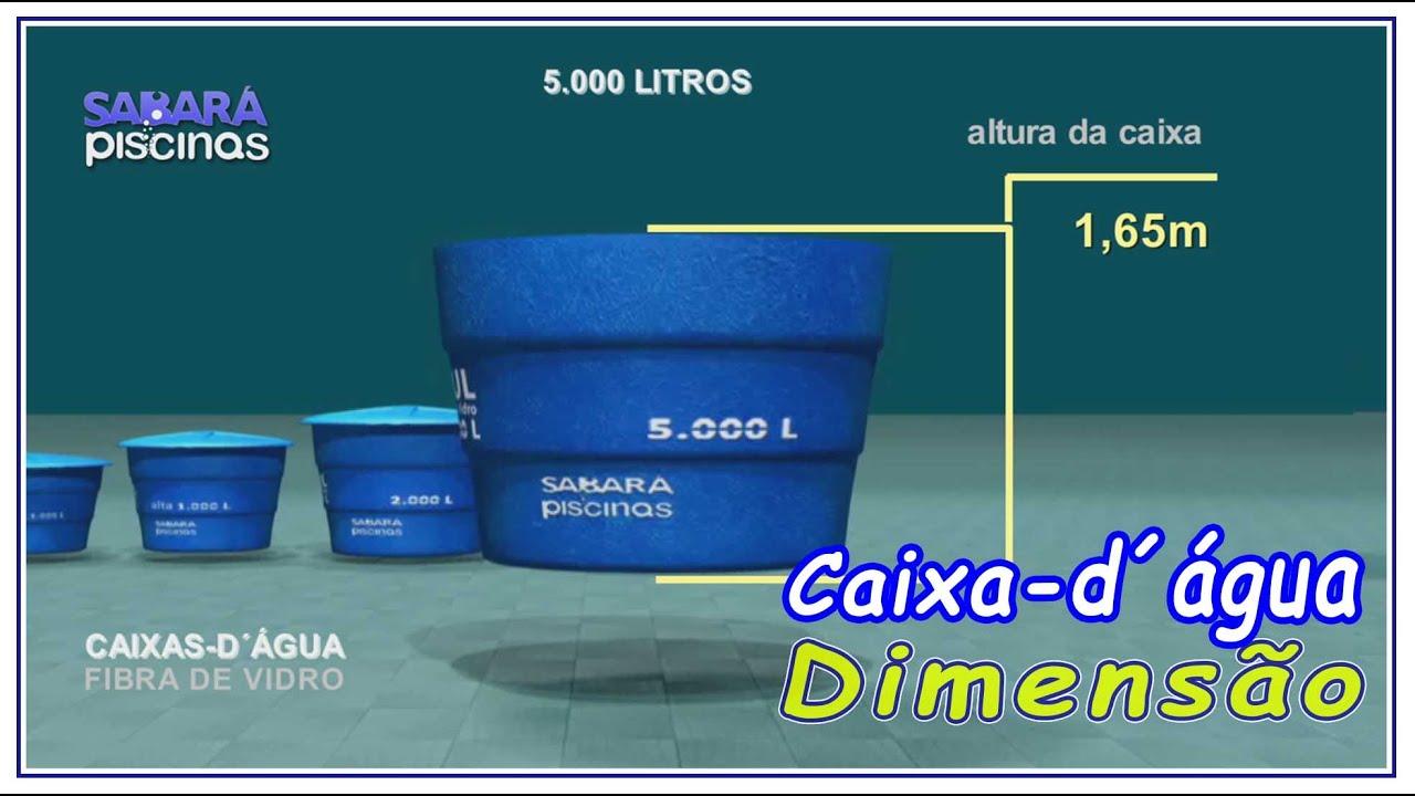 Caixas D Agua 5000 Litros Em Fibra De Vidro Dimensoes E Peso