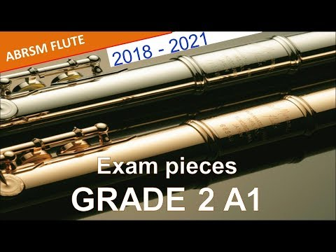 Flute Exam Pieces 2018-2021 Abrsm Grade 2 Sheet Music Book With Audio Musical Instruments Sheet Music & Song Books