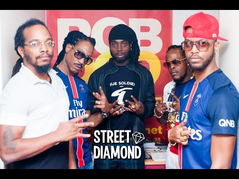 Warped, Datcha Dollar'Z & Toshman (Art Money Group) sur STREET DIAMOND (Dec 2015)
