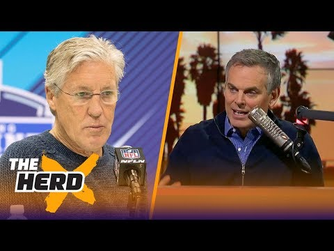 Colin Cowherd: Pete Carroll unraveling in Seattle looks a lot like the end at USC | THE HERD