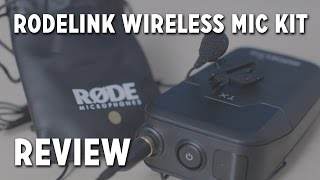 RODELink Wireless Lavalier Microphone Kit Review + Unboxing