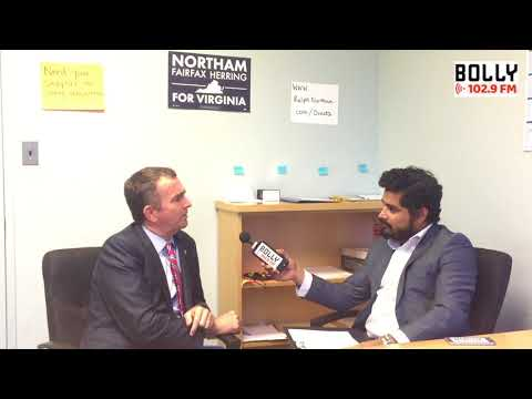 Lt. Gov Ralph Northam - Interview Rock on with Rohit