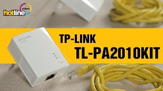 TP-LINK TL-PA2010KIT - экспресс-обзор Powerline-адаптера