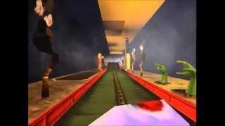 Roller coaster tycoon 3 רכבת שדים - Ghost train (HD)