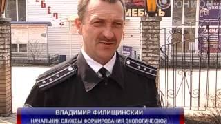 видео Торговля рыбой возле Невского рынка г Конотоп