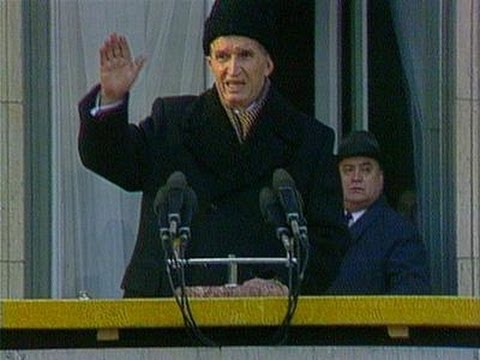Nicolae Ceausescu LAST SPEECH (english subtitles) 1/2