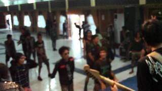 child blooded killer feat dede sunblast - I WANNA KILL #live in kerinci