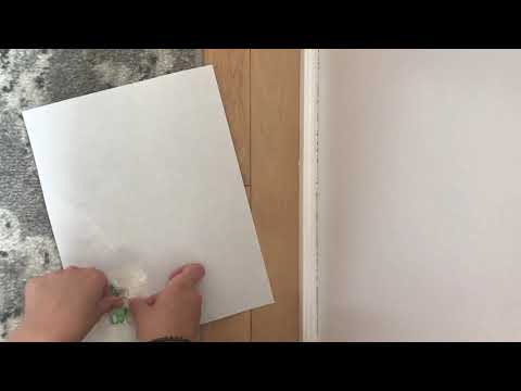 How to make diy stickers without wax paper