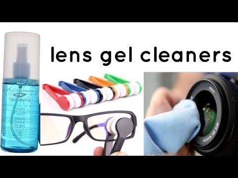 Lens Gel Cleaners